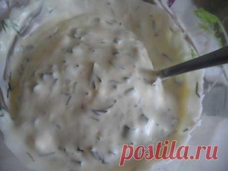 Y bien, la salsa muy sabrosa - las recetas Simples Овкусе.ру