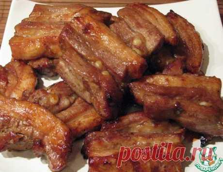 """Свинина в соусе """"Хой Шин"""" – кулинарный рецепт"""