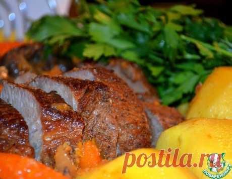 Запеченная говяжья грудинка – кулинарный рецепт