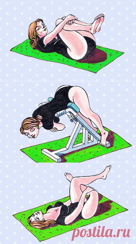 Спина перестала болеть сразу же! Бери и делай эти 6 упражнений | В темпі життя