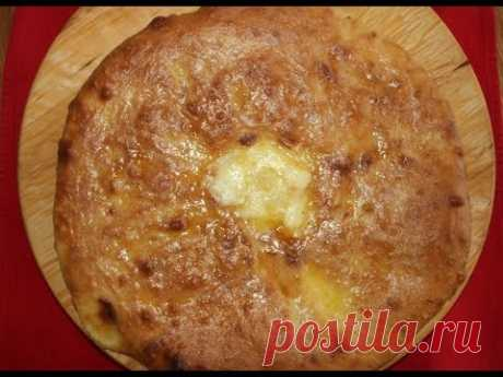Осетинский пирог с картошкой и сыром. Подробный рецепт.