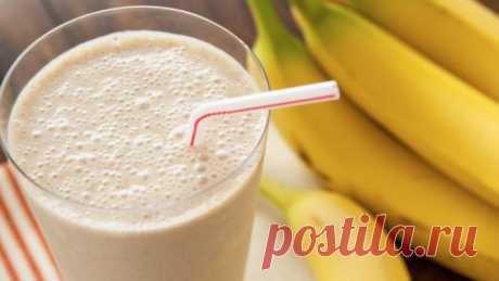 Банановый напиток для стройности и здоровья – молодейте день ото дня!