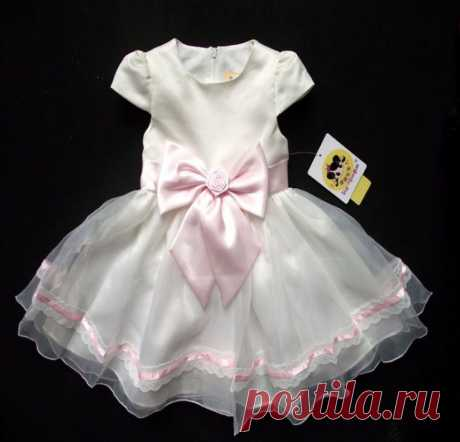 Платье ( ChiL 11 ) Размер: 90  100, 110, 120, 130, 140 Материал : полиэстер, подкладка: хлопок