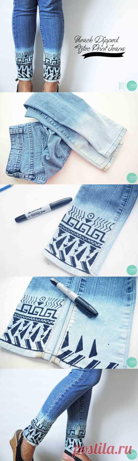 24 замечательных идеи и учебники по переделке вашего старого джинса Koees Blog