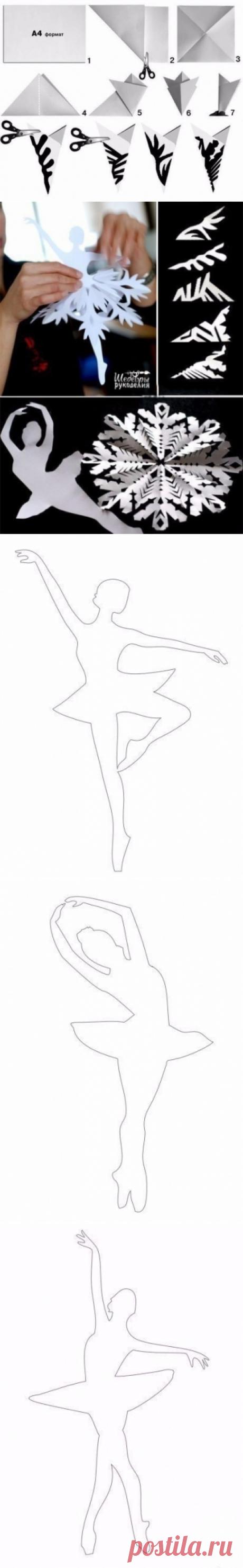 Балерины . - Поделки с детьми   Деткиподелки