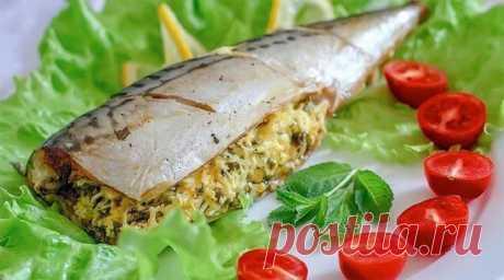 Фаршированная скумбрия-два варианта приготовления вкусной рыбки