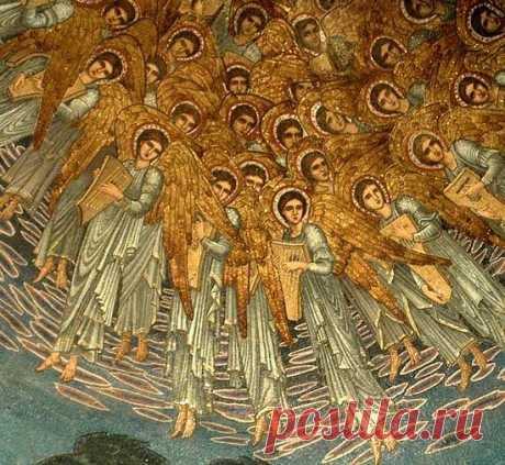 Любвеобильные ангелы стремятся защитить нас / Православие.Ru
