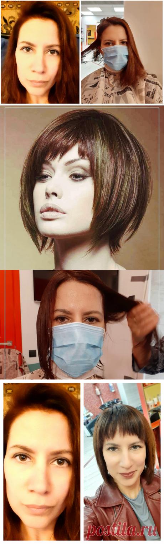 ✂Как я отращивала волосы целый год, а потом пошла в салон и коротко подстриглась. Моё преображение наглядно   Время Луны   Яндекс Дзен