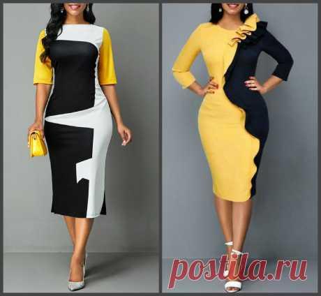 Оригинальные платья, которые скорректируют фигуру без диет. красиво и элегантно – В РИТМЕ ЖИЗНИ