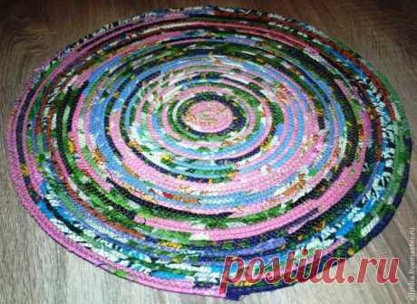 Шьем деревенский коврик