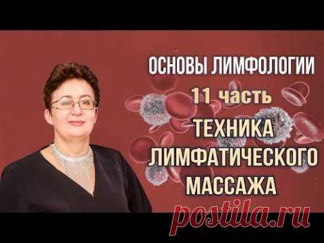 Основы лимфологии | Лимфатическая диагностика | Шишова Ольга | часть 11