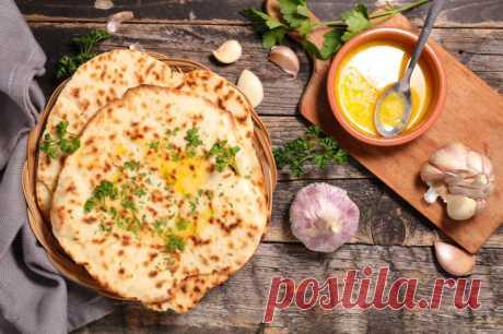 Индийские лепешки наан - низкоуглеводный рецепт - Кето