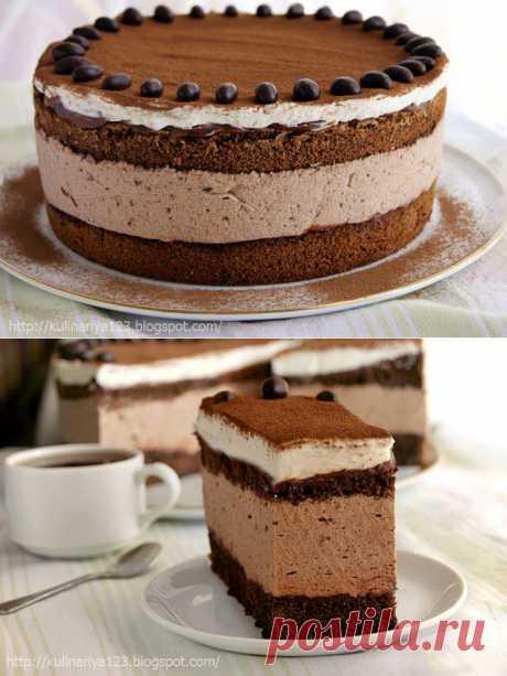 """Торт """"Шоколадно - муссовый"""" Автор: Алия"""