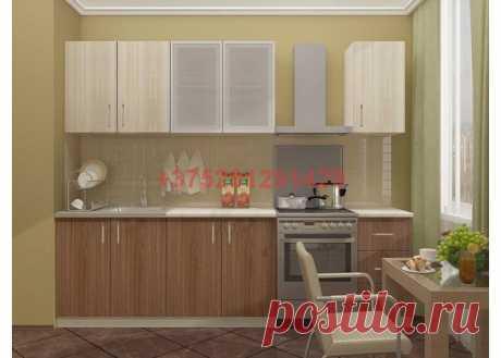 Кухня Катя 2.0 м (ясень темный/ясень светлый): купить в Минске недорого, низкие цены, скидки, рассрочка