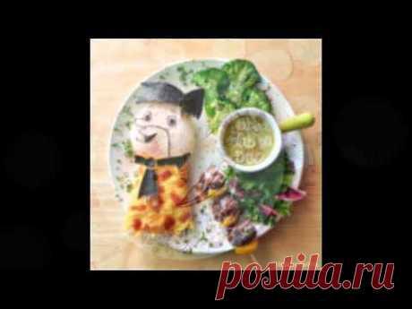 Оформление блюда фото. Сказочное оформление блюда, готовимся к празднику