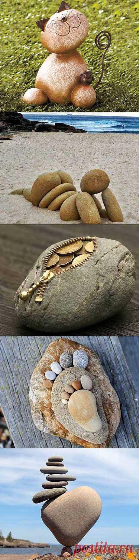 Поделки для дачи своими руками: 12 фигурок из камней | ВСЁ ДЛЯ ДОМА