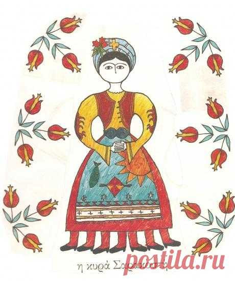 Мама Поста — греческие православные традиции. (Описание по клику на картинку).
