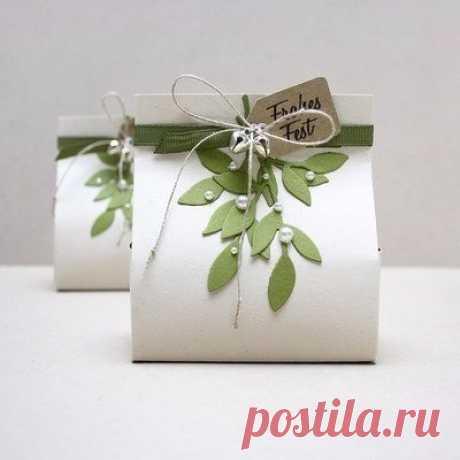Подарочная упаковка-пакет