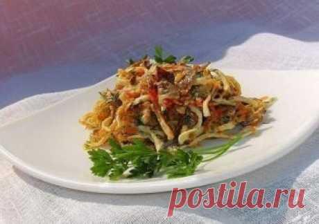 Вкуснейший салат с жареными крабовыми палочками «Необыкновенный» — Фактор Вкуса