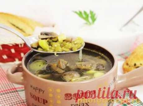 Суп из шампиньонов - пальчики оближешь!