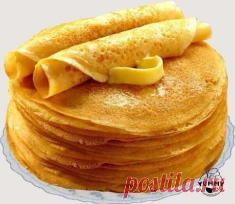 БЛИНЫ «БЕЗУПРЕЧНЫЕ», ПОЛУЧАТСЯ ДАЖЕ У НОВИЧКОВ Ингредиенты:  - кипяток — 1,5 стакана;  - молоко — 1,5 стакана;  - яйца — 2 штуки;  - мука — 1,5 стакана (тесто должно быть реже, чем на оладьи);  - сливочное масло — 1,5 столовые ложки;  - сахарный песок — 1,5 столовые ложки;  - соль — 0,5 чайной ложки;  - ваниль.  Взбейте яйца с сахаром, добавьте соль и ваниль. Далее взбивая смесь, добавляем молоко и постепенно всыпаем муку.
