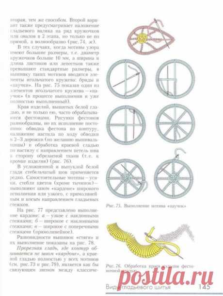 (9) Gallery.ru / Фото #57 - вышивка стежком. декоративные швы - Vladikana