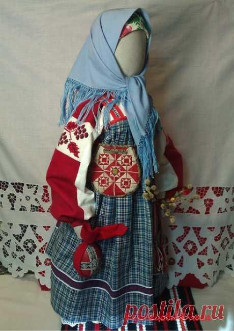Христово Воскресенье всем на веселье! Самаряночка встречает праздник в новом наряде... Кукла ростом 68см.