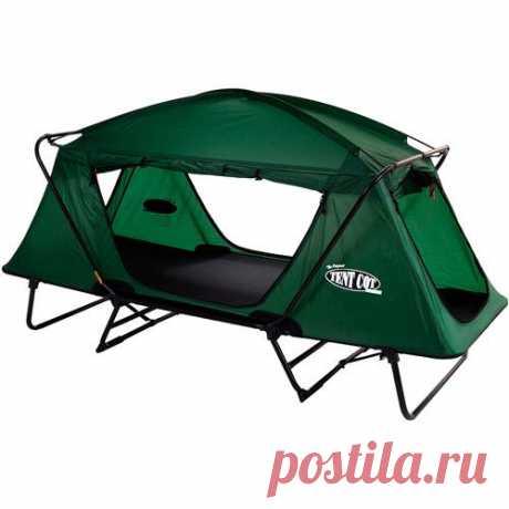 классная идея: палатка-раскладушка