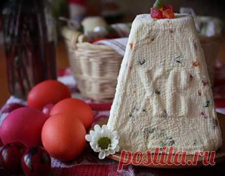 Рецепт творожной пасхи с цукатами от 1001 ЕДА