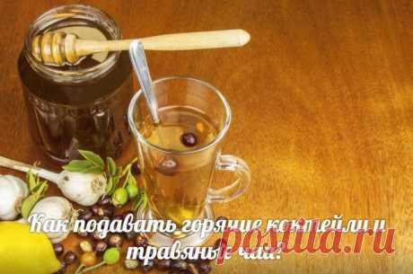 """Как подавать горячие коктейли и травяные чаи?   Журнал """"MY HOME LIFE"""" Горячие коктейли и согревающие зимние напитки нужно подавать в.... Бокалы лучше выбирать из..."""