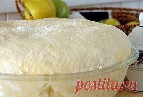 """Тесто """"Как пух""""! Быстрое прекрасное тесто для любой выпечки!  Ингредиенты: 1 стакан - кефира, 0.5 стакана - растительного масла, 1 пакетик (11 граммов) сухих дрожжей, 1 ч.- ложка соли, 1 ст. ложка - сахара, 3 стакана- муки  Приготовление: Кефир смешать с маслом и немного подогреть, добавить соль и сахар,муку просеять и смешать с дрожжами, влить постепенно кефирную смесь и замесить тесто, накрыть и поставить в тепло на 30 минут. Пока тесто будет подходить, можно приготовить..."""