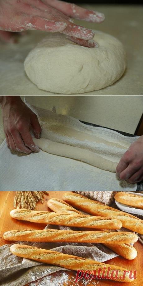 Рецепты МастерШеф: французский багет с хрустящей корочкой - Досуг - Кулинария на Joinfo.ua