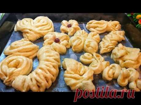 10 Способов Формирования Булочек. 10 красивых форм булочек. Изготовление булочек. Пальчики оближешь