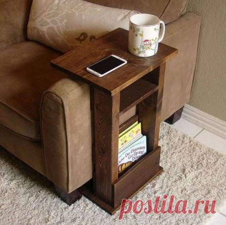 Прикроватные и придиванные столики - удобно ли ими пользоваться? Идеи декора! | Юлия Жданова | Яндекс Дзен