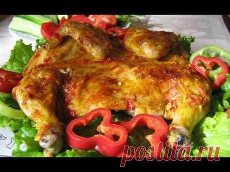 ЦЫПЛЕНОК ТАБАКА С ЧЕСНОЧНЫМ СОУСОМ ПО ГРУЗИНСКИ Блюда из птицы Праздничные блюда Грузинская кухня - YouTube