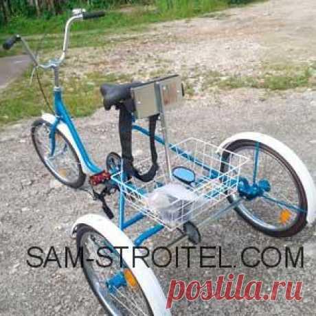 Трехколесный велосипед взрослый своими руками Самодельный трехколесный велосипед для взрослых: фото и описание конструкции самоделки