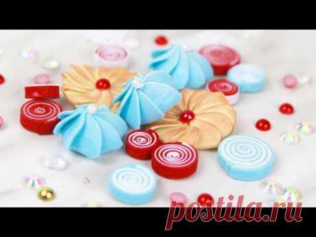 КАК Я ДЕЛАЮ: сладости из фоамирана / скрап-декор из фоамирана своими руками/ foamiran sweets