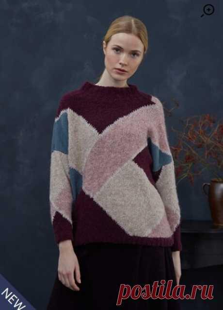 Подборка стильных пуловеров спицами: 16 проектов   Вязание и другие виды рукоделия   Яндекс Дзен