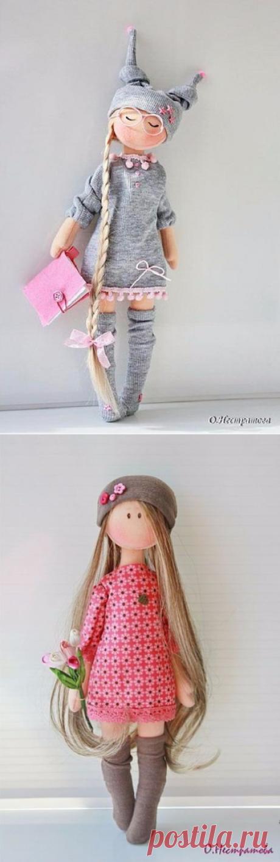 Шьем куколку. Выкройка — Infodays