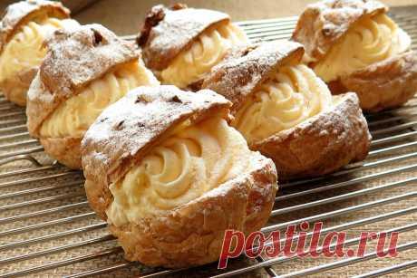 Шу - легендарный французский десерт, но в Грузии его считают своим. Делюсь рецептом мамы из старой тетрадки | Удивительная Грузия | Яндекс Дзен