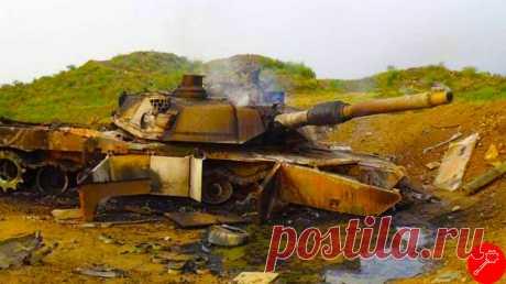 Американские подбитые танки не редкость и вот еще одна история об этом