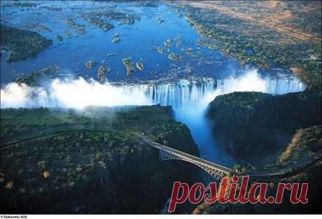 Дьявольский бассейн водопада Виктория - Путешествуем вместе