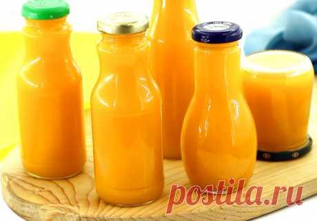 Тыквенный сок с апельсином — Sloosh – кулинарные рецепты