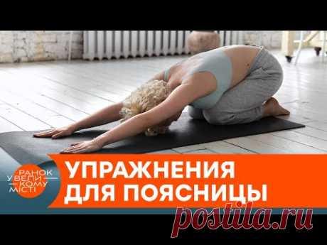 Боль в пояснице: эффективный комплекс упражнений на снятие спазма — ICTV