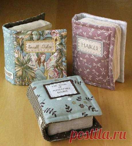 Книголюбам и библиофилам. Необычная идея игольницы — HandMade