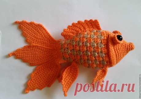 схема рыбки для вязания - Пошук Google