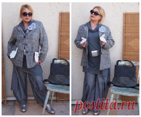 """Стиль """"Бохо"""" в осенних образах: Эффектные одежды для полных женщин"""
