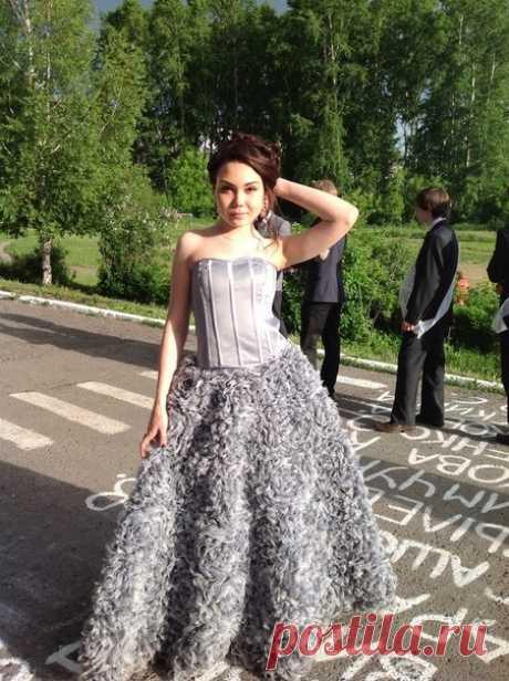 Шикарное платье от кутюр своими руками! (Мастер-класс) Модная одежда и дизайн интерьера своими руками