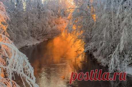 Красота зимних пейзажей в фотографиях Jari Ehrström — Фотошедевры