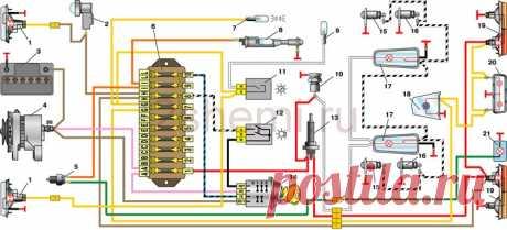 Схема ВАЗ-2101   2 Схемы
